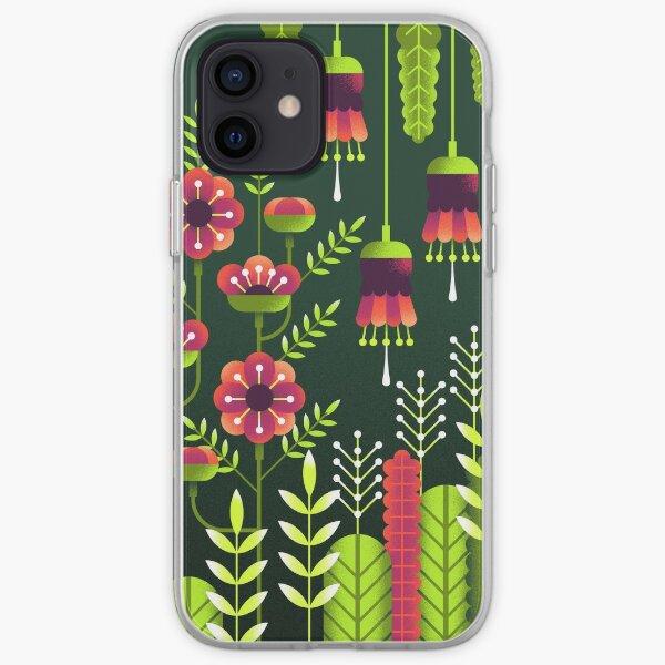 Geometric Flowers iPhone Soft Case