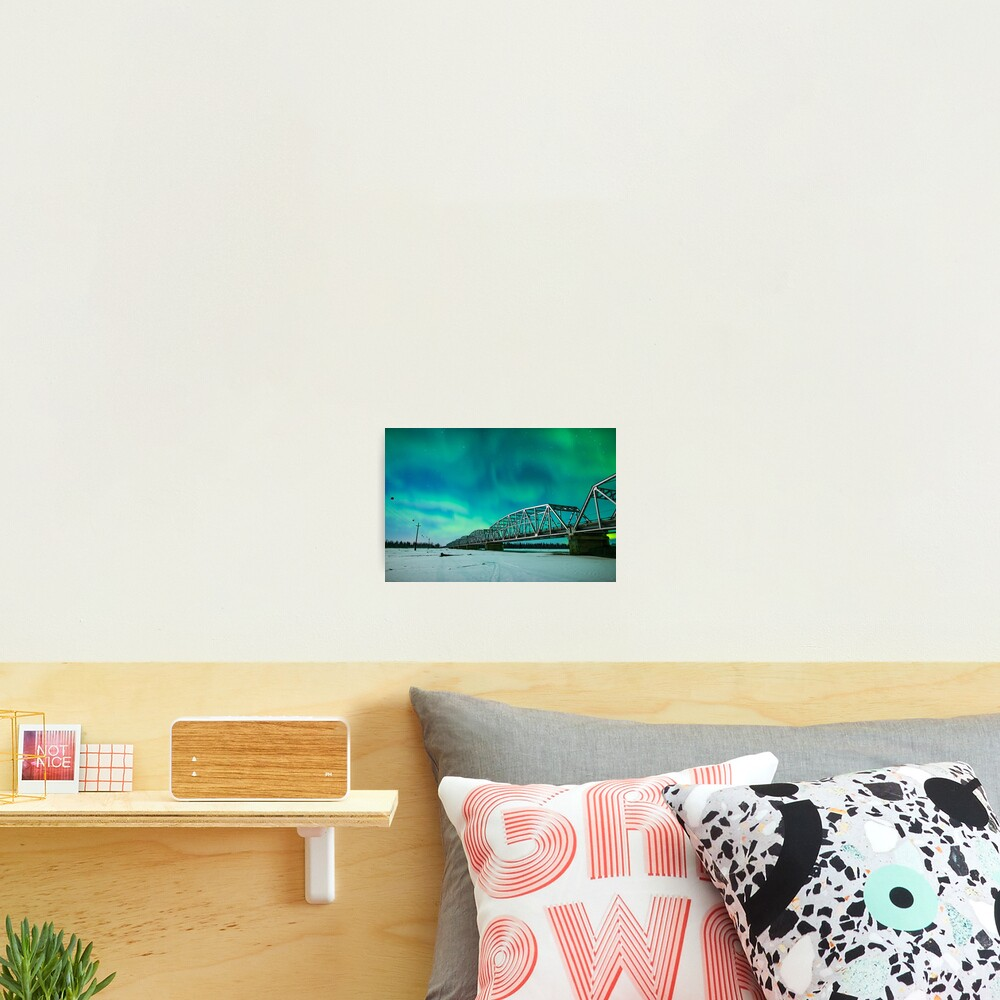 Aurora and the Alcan Photographic Print