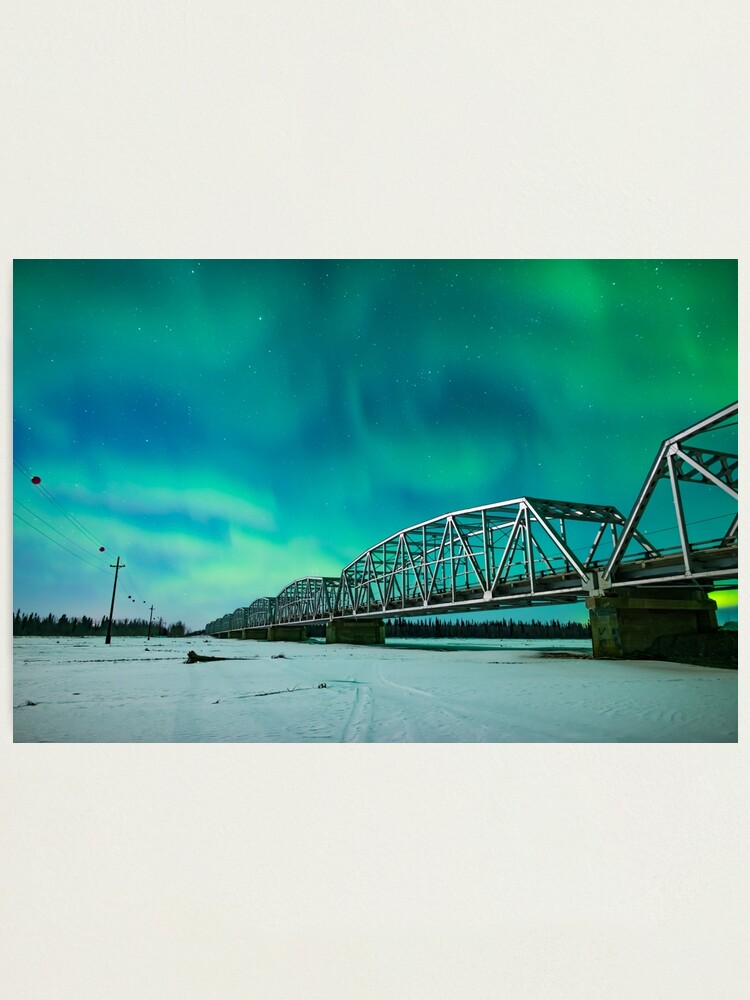 Alternate view of Aurora and the Alcan Photographic Print