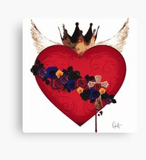 Sacred Heart for Frida Canvas Print