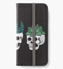 Skull Plants Trio iPhone Wallet/Case/Skin