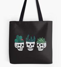 Skull Plants Trio Tote Bag