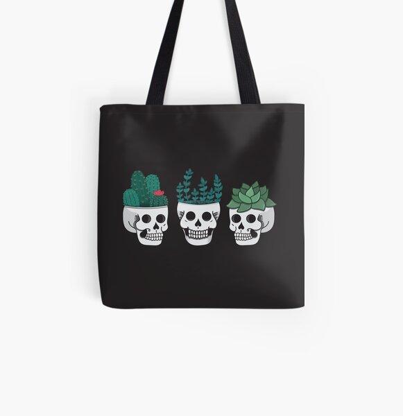 Skull Trio Tote Bag