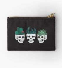 Skull Plants Trio Zipper Pouch