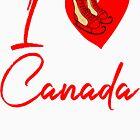 I love Canada (hockey skates) by LatinoTime