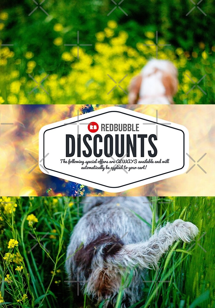 GET YOURSELF A DISCOUNT! by heidiannemorris