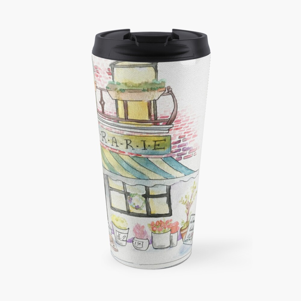'Florarie' The Florist Shop in Romania Travel Mug