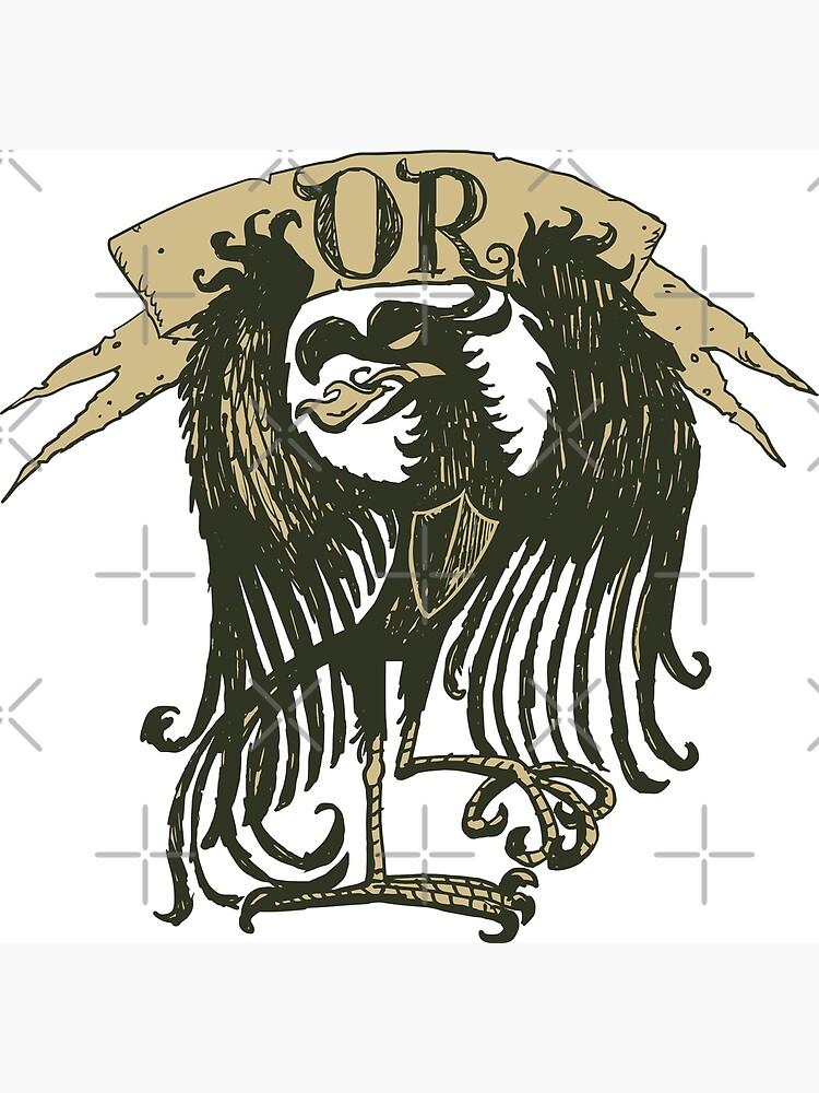 Golden heraldry Eagle by duxpavlic