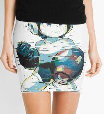 Mega Man Mega Buster - Type C [Glitch Remix] Mini Skirt