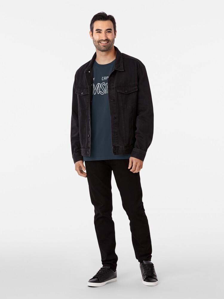 Alternative Ansicht von Mein Kap ist unsichtbar Premium T-Shirt