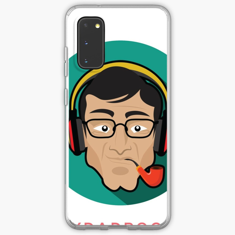 My Dad Rocks 24/7 - Pipe Case & Skin for Samsung Galaxy