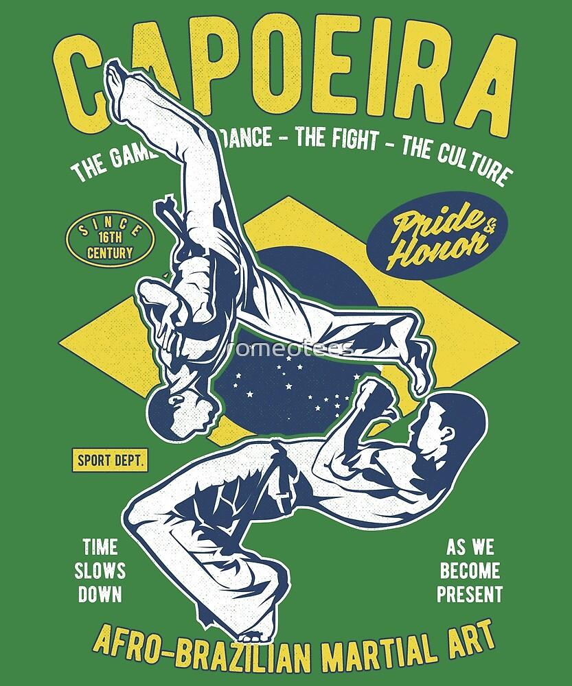 Capoeira  by romeotees