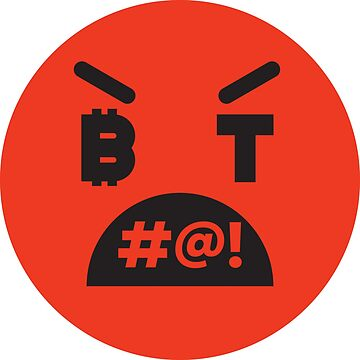 Bitcoin Cursing Smiley by Bitcoin-Smiley