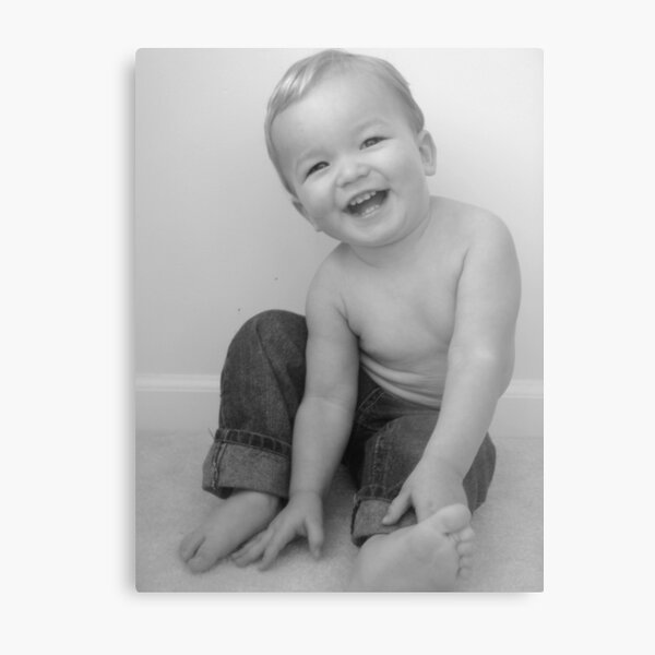 Bright Side Baby  Metal Print