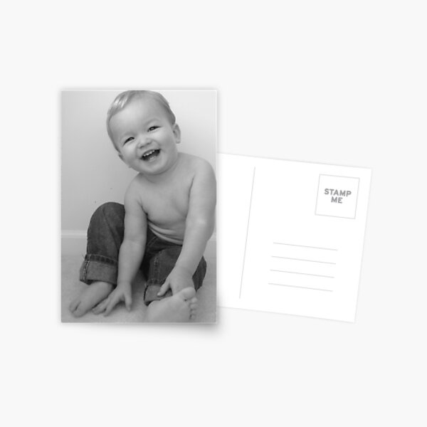 Bright Side Baby  Postcard