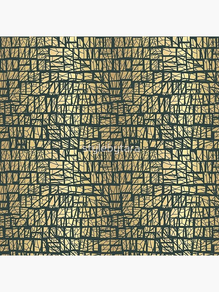 Royal Green Pattern von stylebytara