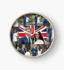 HRH Prince Harry and Meghan Markle Royal Wedding Souvenir Clock