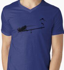 Seesaw Narwhal Men's V-Neck T-Shirt