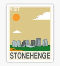 Visit STONEHENGE Travel Poster Sticker