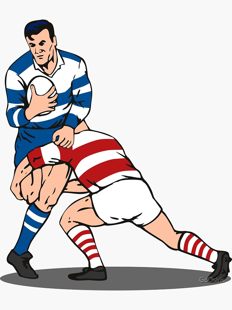 Rugby Player Tackled de GoOsiris