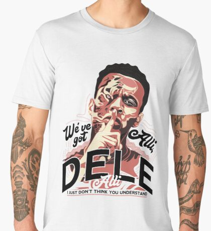 Dele Alli Psssst! Men's Premium T-Shirt