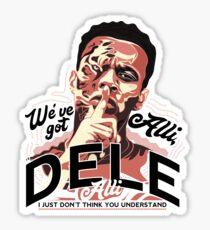 Dele Alli Psssst! Sticker