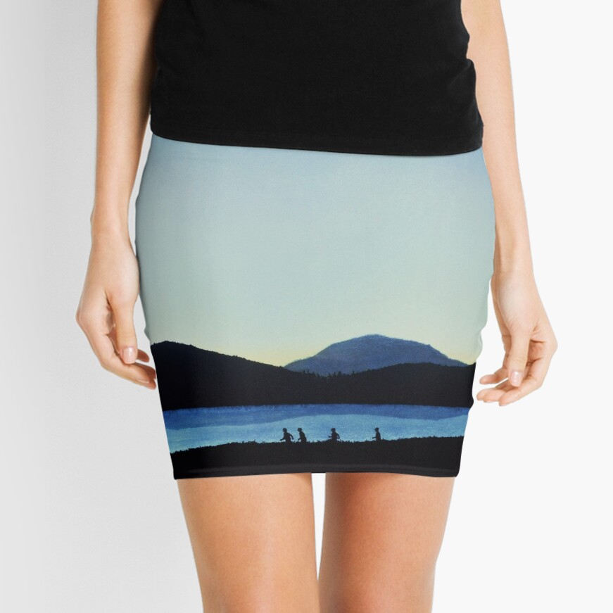 Stand by Me Mini Skirt