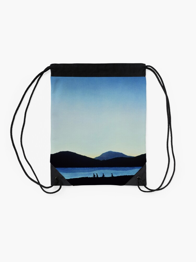Alternate view of Stand by Me Drawstring Bag