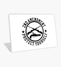 2nd Amendment Protect Yourself Laptop Skin