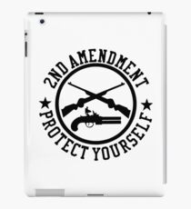 2nd Amendment Protect Yourself iPad Case/Skin