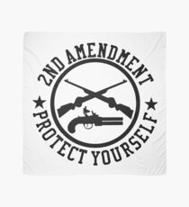 2nd Amendment Protect Yourself Scarf