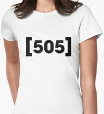 505 - Arctic Monkeys Women's Fitted T-Shirt