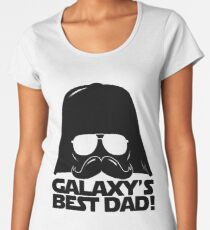 Funny Galaxy's Best Dad Father Statement Gift Birthday, Father's Day, Anniversary for Men Women's Premium T-Shirt