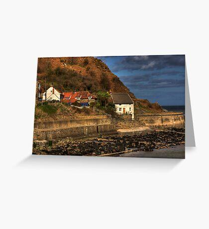 Runswick Bay - North Yorkshire #1 Greeting Card