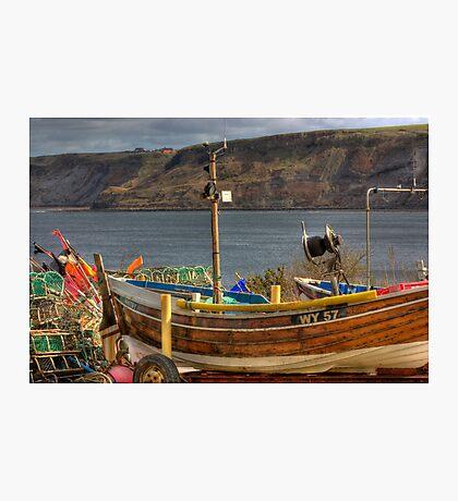 Runswick Bay - North Yorkshire #2 Photographic Print