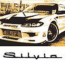 Nissan Silvia  by Kgphotographics