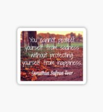Protect Yourself Sticker