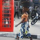 British Phone Booth on Awolowo Road by Wonuola Lawal