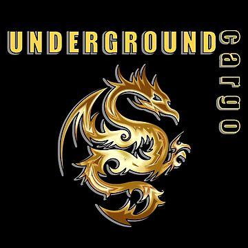 Underground Cargo Dragon by davidjo
