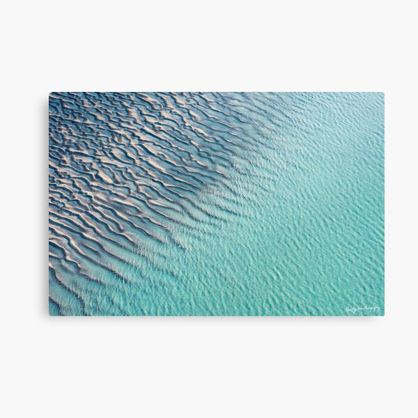 Ripples and Ridges Canvas Print