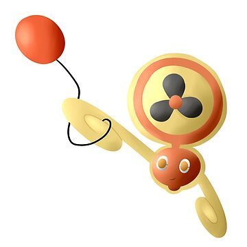 Rotom-Fan with Air Balloon (sans text) by Cruithne