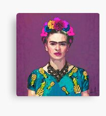 Trendy Frida Kahlo Canvas Print