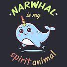 Narwhal is my spirit animal by zoljo