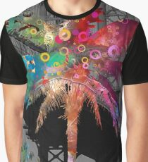 Palm Tree in New York Graphic T-Shirt