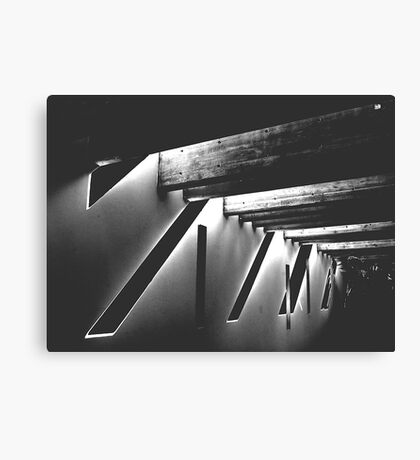 INVERTED SHADOWS Canvas Print