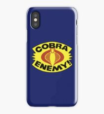 G.I. JOE - COBRA ENEMY! - BLISTER iPhone Case