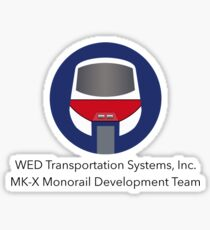MK-X Monorail Development Team Sticker