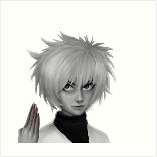 Anime Hunter X Hunter Killua Zoldyck Fan Art Art Prints By KIRART