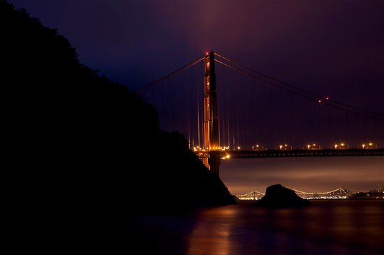 Golden Gate Bridge from Kirby Cove by MattGranz