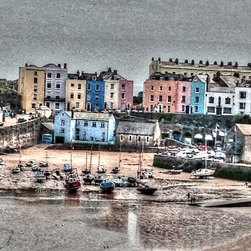 Tenby Harbour by raytylerimages